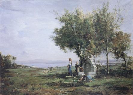 Peinture de Emmanuel Lansyer au musée Lansyer