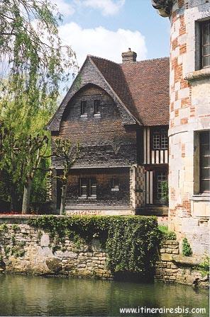 château de Livet en normandie