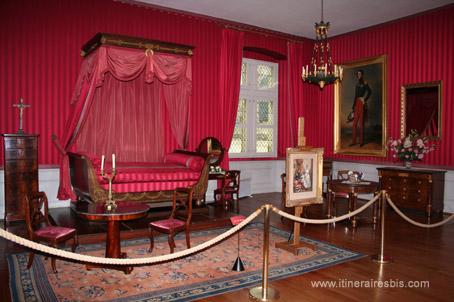Visite du château d'Amboise, Chambre de style 1er Empire