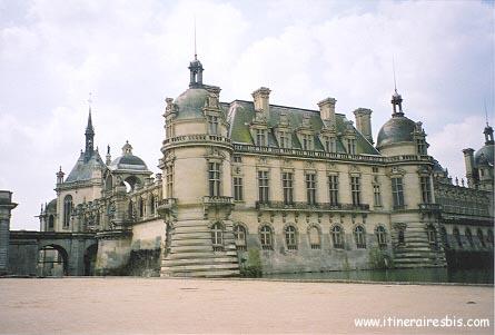 Extérieur du Château de Chantilly