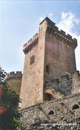 Haute tour du château