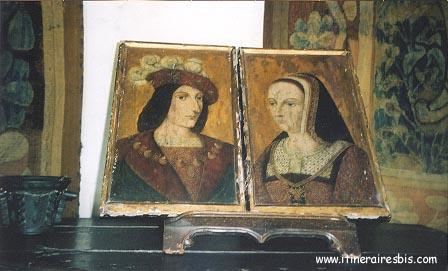 Portraits de Anne de Bretagne et Charles VIII