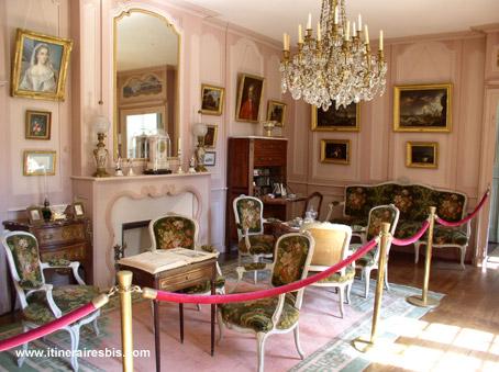 Le boudoir Manoir à voir pendant une visite du Château-Manoir de Kerazan