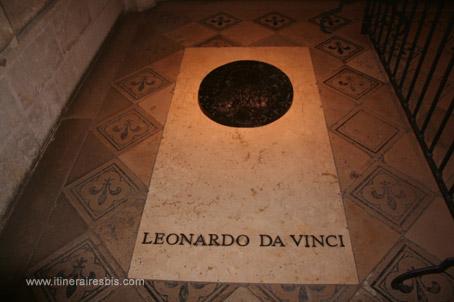 La tombe de Léonard de Vinci au château d'Amboise, Visite du château d'Amboise de François 1er et son ami Léonard de Vinci