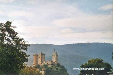 Foix, le château de Gaston Phoebus, un château de France