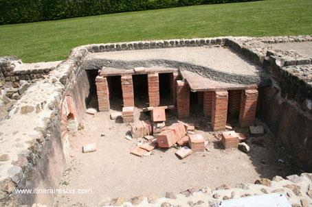 Thermes Romains Vieux la romaine