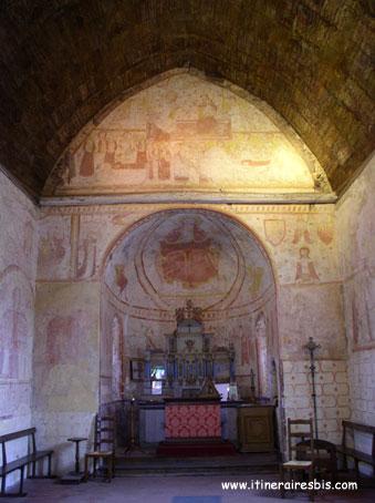 Eglise Romane Saint Cénéri le Gérei
