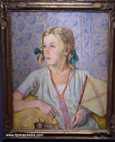 Tableau du peintre Montfreid au musée d'Alençon