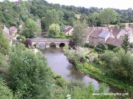 Le village de Saint Cénéri près de Alençon
