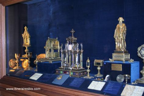 Le magnifique trésor du Palais du Tau à Reims
