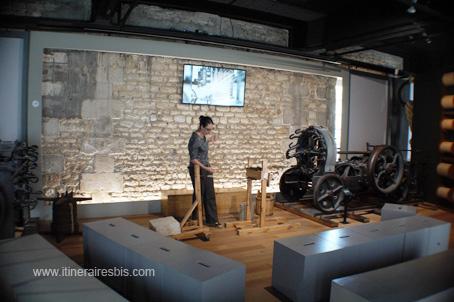 Corderie Royale de Rochefort machine pour le tressage du cordage
