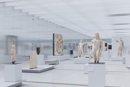 Louvre Lens galerie du temps