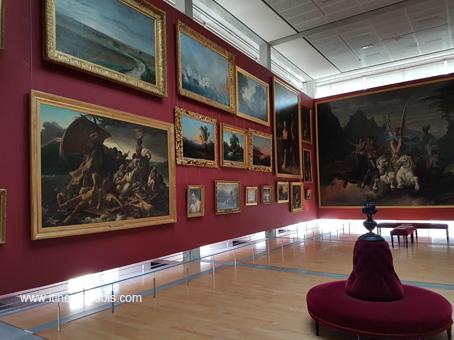 Musée Hebre à Rochefort salle des tableaux