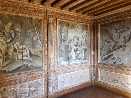Château de Puymartin le cabinet mythologique
