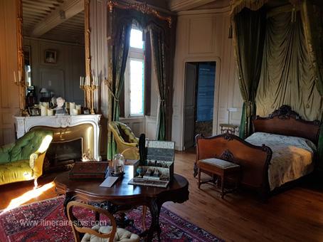 Chambre de la marquise Roffignac de Carbonnier de Marzac
