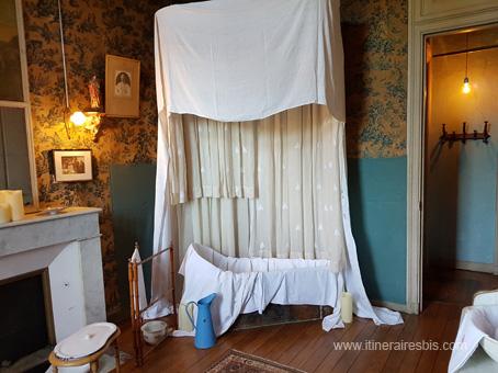 cabinet de toilette de la marquise Roffignac de Carbonnier de Marzac