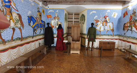 Salle des neuf Preux
