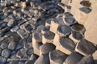 Le basalte de la chaussée des géants