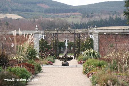 Un jardin dans le jardin au château de Powerscourt