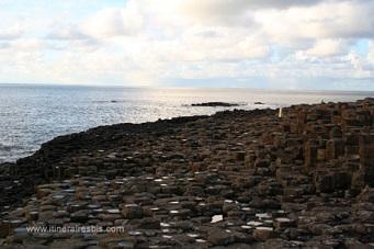 Les roches formant la chaussée des géants