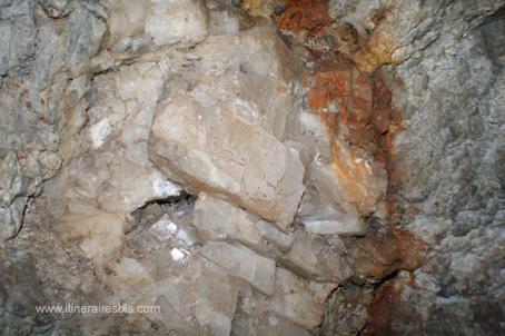 Mine de Glengowla blocs de Calcite