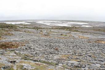 Le Burren un paysage fait de pierres et de lacs