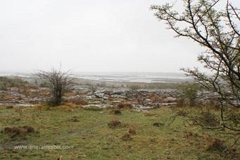 Pluie souvent présente dans le Burren