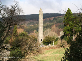 La tour de guet Glendalough