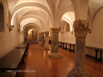 Abbaye di Fiastra l'ancien réfectoire